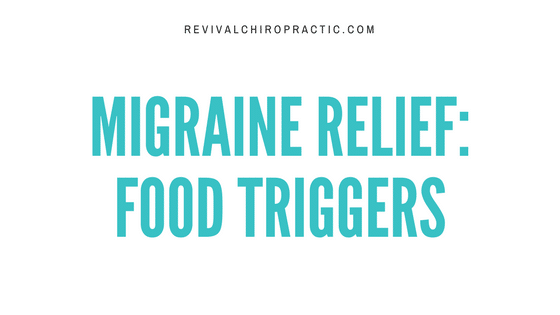 migraine relief food triggers