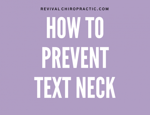 Preventing Text Neck